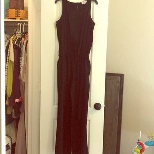 LOFT black jumpsuit -0P